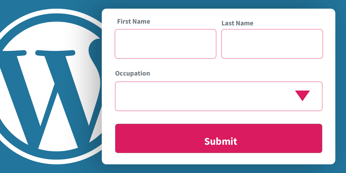 Example of submitting a form without using the WordPress REST API (2021)